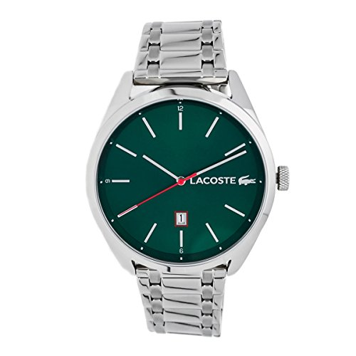 Lacoste San Diego Green Dial Stainless Steel Men's Watch 2010961
