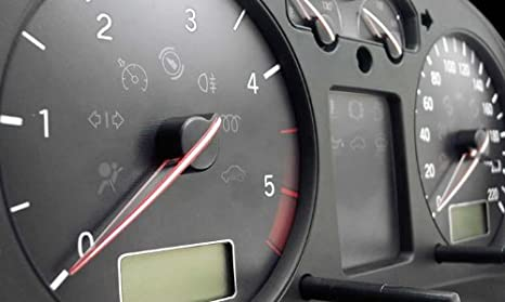 Car Innovations Stickd Zierdekore f/ür Tachonadeln