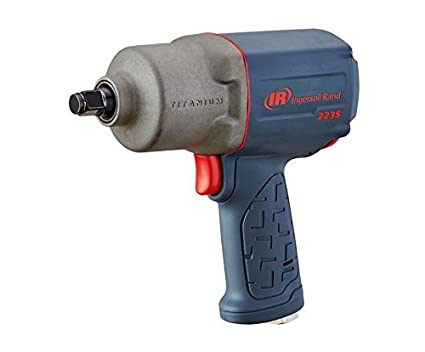 1.  Ingersoll-Rand 2235 TiMax ½ inch air powered impact wrench