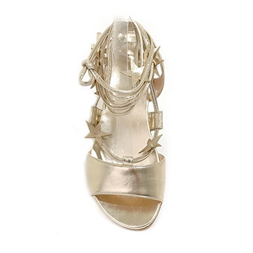 Or De Fermeture En Filles Lacets Lacets Polyuréthane Romanesque À Sandales Adee wqBqPIg8