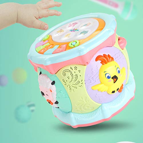 LIPENG-TOY 0-3-6 Years Old Children Learn to Sing Can Accompaniment Hand Drums Baby Infant Enlightenment Baby Toys Boys and Girls (Color : Multi-Colored) by LIPENG-TOY (Image #5)