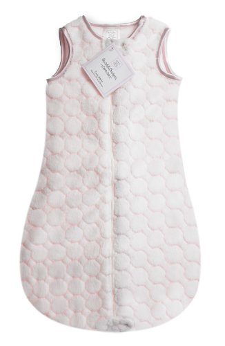 SwaddleDesigns Sleeping Zipper Pastel Circles product image