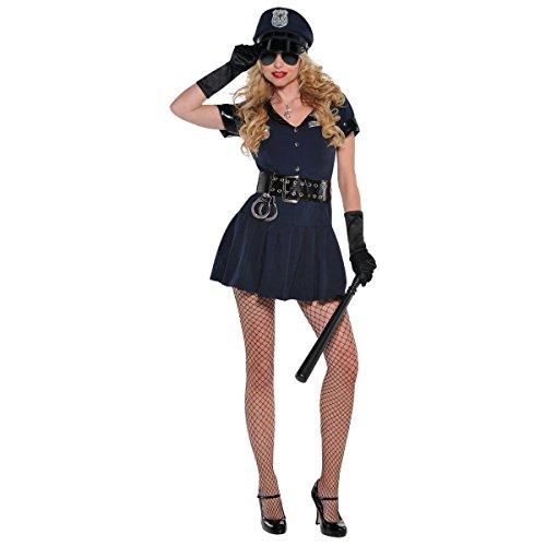 Womens Officer Rita Dem Rites Costume Size Large (10-12)