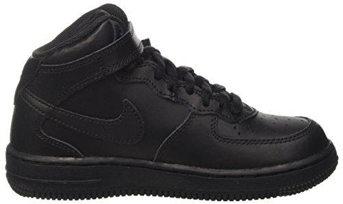 Garçon Noir Basketball Mid Force Chaussures ps Nike De 1 Sq8Y0Ywf