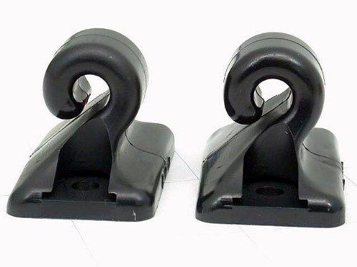 porsche 944 sun visor clip - 4