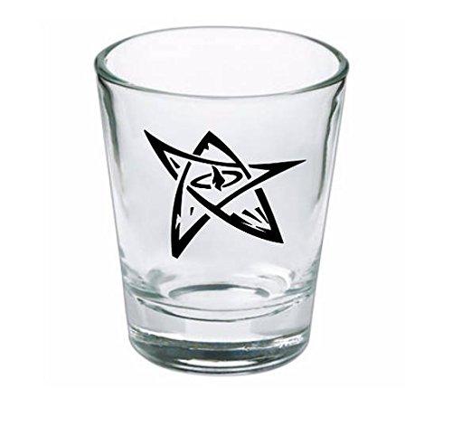 Elder Sign HP Lovecraft Cthulhu Shot Glass ()