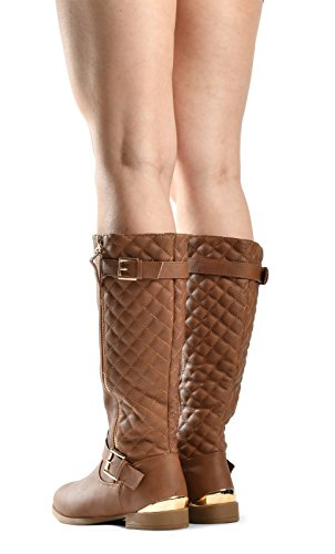 JJF Schuhe für immer Link Mango-21 Lady Boot Tan_99