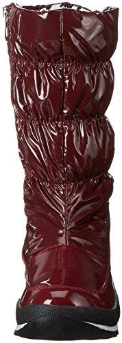 Caprice 26415, Botas Altas Mujer Rojo (BORDEAUX COMB. 550)