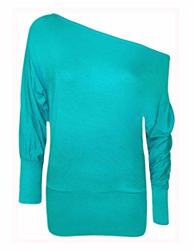 Elum® - Camiseta de manga larga - para mujer turquesa