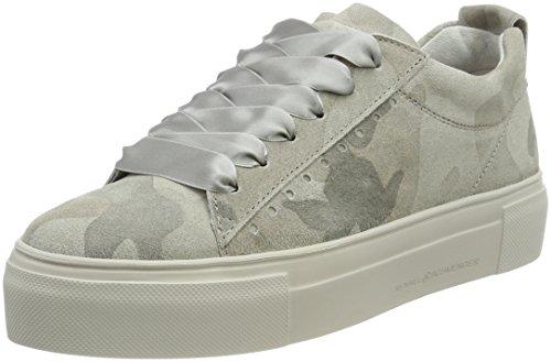 Sneaker Da Donna Kennel E Schmenger Grigio (suola Con Suola Taiga)