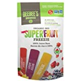 Deebee's Organics Organic Superfruit Freezie Juice Bars 1 Bag with 12 bars {Imported from Canada}