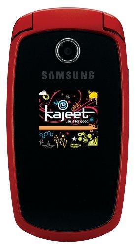 Samsung SGH-M300 Prepaid Phone, Red (Kajeet)