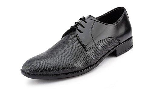 Gekko Zapatos de cordones de Ante para hombre Negro negro 44
