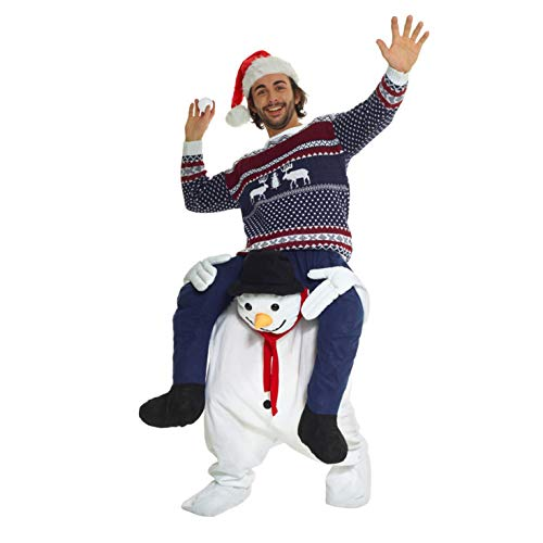 Morph One Size Fits Most Piggyback, Snowman (Best And Worst Elf Products)