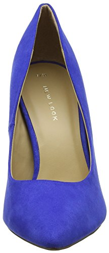 New Look Damen Yummy Pumps Blue (Mid Blue)
