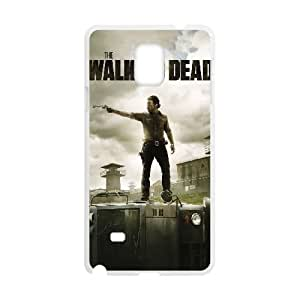 Samsung Galaxy Note 4 Cell Phone Case White The Walking Dead byzq
