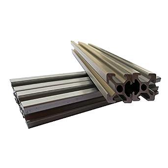 4 piezas 2020 750 mm 29.5 pulgadas estándar europeo lineal perfil ...