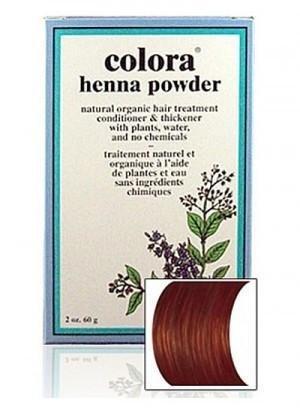 - Natural Henna Hair Coloring Powder, Brown; 2oz
