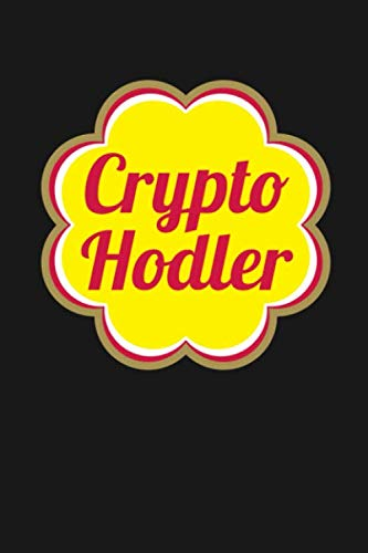 """Crypto Hodler: Funny Crypto Currency Apparel Bitcoin Journal, Inspired by Chupa Chups, Password Notebook 