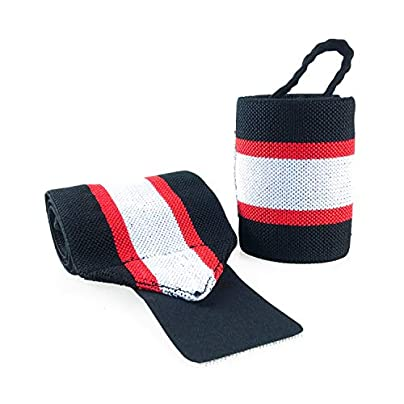 2Pcs Sport Elastic Bandage Adjustable Wristband For Sports Safety Wrist Support Fitness Weightlifting Training Straps Estimated Price £8.39 -