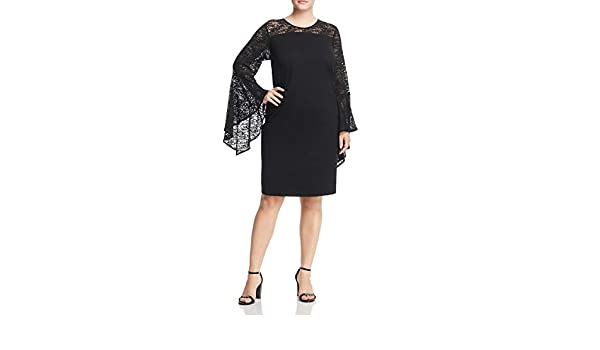 39e17ebd5f Vince Camuto Specialty Size Womens Plus Size Handkerchief Lace Dress at  Amazon Women's Clothing store: