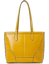 Women Leather Handbag Designer Tote Shoulder Purses Top-handle Bag