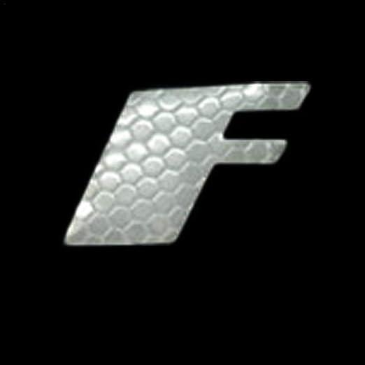 Ploufer Coche Universal Rueda Deslumbrante Etiqueta 3D Motocicleta ...