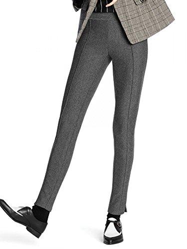 HUE Womens Tweed Loafer Black Legging - XS by HUE