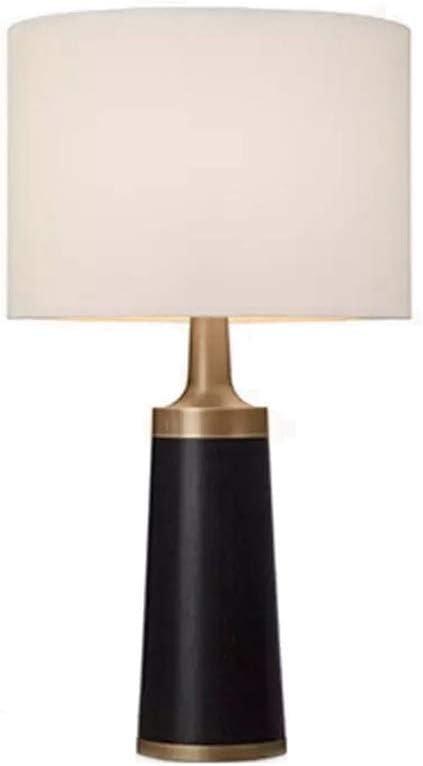 &Luz para Leer Lámpara de Mesa Lámpara de Escritorio Moderna Simple Tela de Hierro Sala de Estar Sofá Dormitorio Lectura de cabecera Estudio Hotel Oficina - Interruptor de botón Lámpara de Noche: