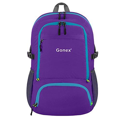 Gonex 30L Lightweight Packable Backpack Handy Travel Hiking Daypack