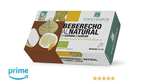 Porto Muiños Berberechos al Natural con Kombu de Azúcar - Paquete de 3 x 90 gr - Total: 270 gr: Amazon.es: Alimentación y bebidas
