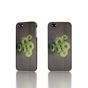 Apple iPhone 5/5S Case - The Best 3D Full Wrap iPhone Case - Green Mums
