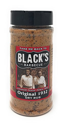 Texas Brisket Rub (Blacks Barbecue Original 1932 Dry Rub (1-Pack))