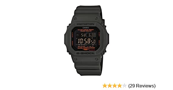 f3d29bb0cc99 Amazon.com  Casio Men s G5600KG-3CR G-Shock Military Green Multi-Function  Digital Watch  Casio  Watches