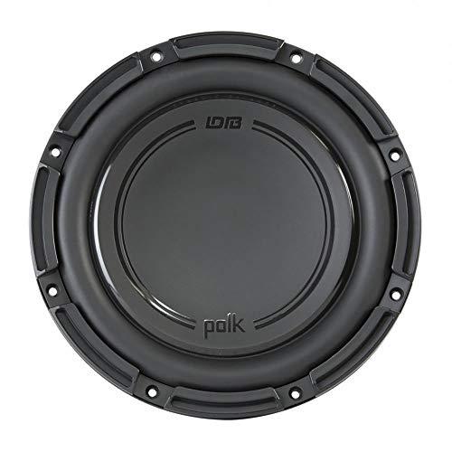 (Polk Audio DB+ 10 Inch 1050 Watt 4 Ohm DVC Marine & Car Subwoofer | DB1042DVC)