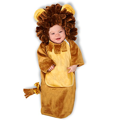 Cuddly Lion Infant Bunting, Multi-colored, Newborn -