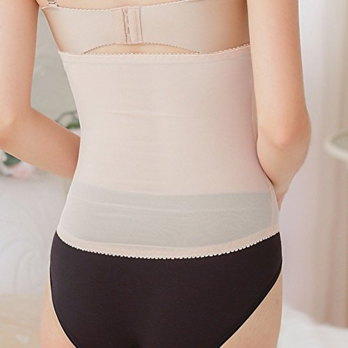 Zhhlinyuan Women's Respirabilidad Comfortable Waist Belt Support Pressure Shaping Control Body Underwear Female Black