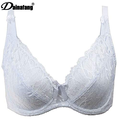 Amazon.com: GuiZhen Summer Style Full Cup European and American Luxury Brand Ultra-Thin Bra Push Up Cotton Breathable Lace C D E: Garden & Outdoor