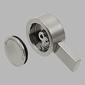 Delta RP62959SS Vero Single Metal Lever Handle Temperature Knob and Cover, Stainless