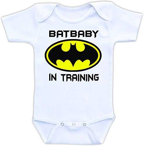 Batbaby in Training - Cute and Funny Onesie (6-9M)