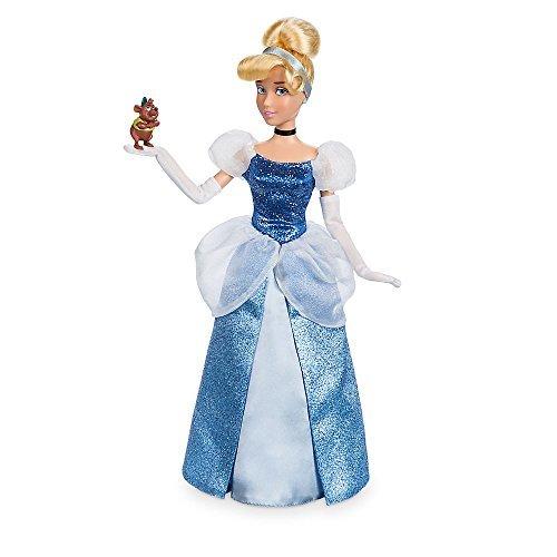 Disney Cinderella Classic Doll with Gus Figure - 11 1/2 Inch by Disney