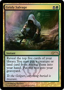 (Magic: the Gathering - Grisly Salvage - FNM 2013 - FNM Promos - Foil)