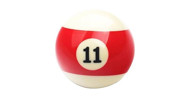 Black Temptation 1 PCS Cue Sport Snooker USA Pool Bolas de Billar 57.2 mm / 2-1/4 - NO.11: Amazon.es: Deportes y aire libre