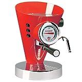 Bugatti 15DIVAC3110 Diva 15-Bar Pump Espresso Machine, Red