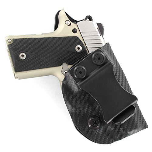 Outlaw Holsters: IWB Kydex Holster for Kimber Micro 9mm - Inside The Waistband - Adjustable Cant & Retention ...