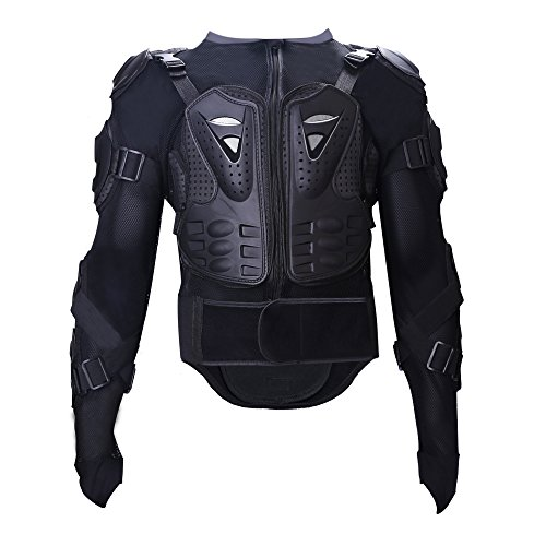 Tera Motorcycle Protective Jacket,Sport Motocross MTB Racing Full Body Armor Protector for Men ()