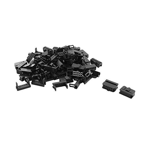 40 Pcs FC-10P JTAG Socket Connector for Flat Ribbon Cable