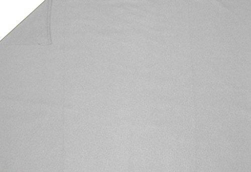 LA Linen Polar Fleece Fabric, 2.5-Yard by 58-Inch, White