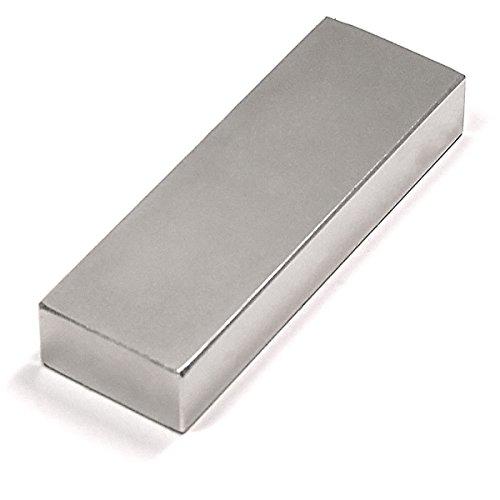 Super Strong Neodymium Magnet Grade N52 3x1x1/2