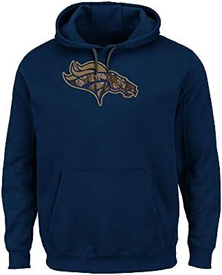 Amazon.com   Denver Broncos Majestic Camo Tek Hooded Sweatshirt (M ... ef83f5402940
